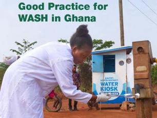 Cover of Good practice for WASH booklet