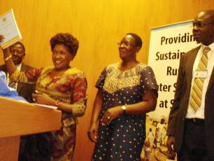 Image of the launch of the District Implementation Manual in Uganda
