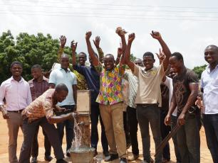 Participants of local government training of area mechanics in Ghana