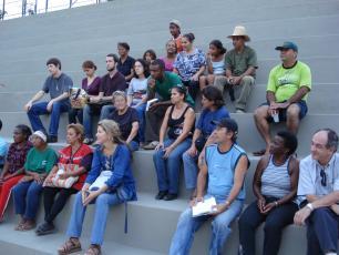 Stakeholder meeting in the favela's of Belo Horizonte, Brasil