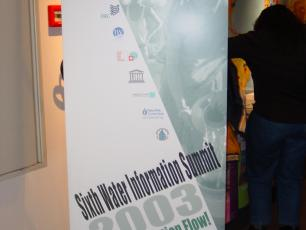 Banner announcing Water Information Summit 6