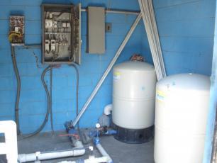 Water and energy storeroom