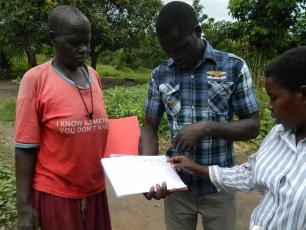 Household level monitoring in Lira District