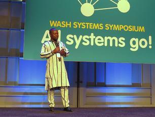 Richard Bassono of IRC Burkina Faso