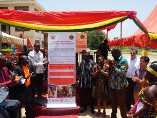 Launch of the Asutifi North District WASH master plan