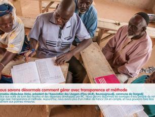 L'association des usagers de eau Bounougnoudji, commune de Gorgadji
