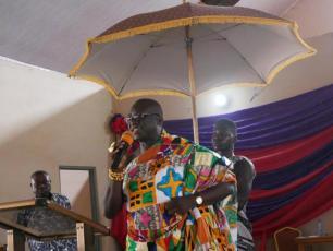 Launch of Asutif project - Saamanhene of Kenyasi No.1 - Nana Anim Dankwah