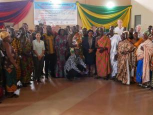 Ghana - launch of IRC's Asutifi project