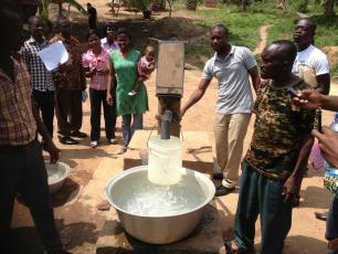 FLOW training in Ghana, 2013.