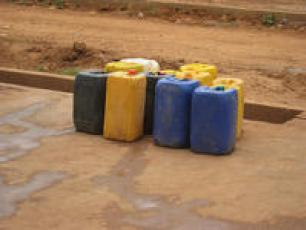 Ghana water point