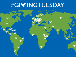 Giving Tuesday map