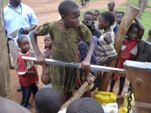 hand pump Uganda
