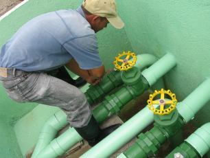 Water treatment plant, Tegucigalpa, Honduras