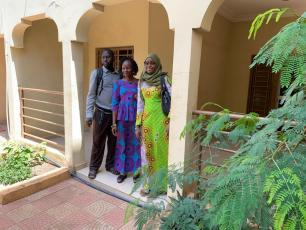 IRC Mali team and office