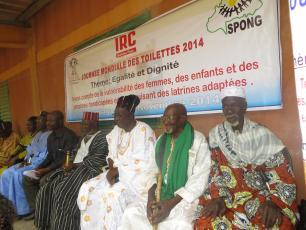 Les chefs coutumiers présents à la cérémonie