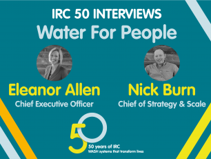 Water For People IRC 50 interview