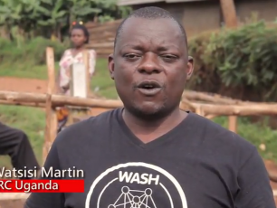 "Still from IRC Uganda video ""WASH is about SYSTEMS"""