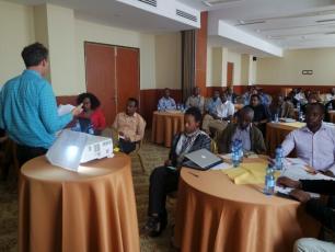 Participants at the monitoring for maintenance seminar