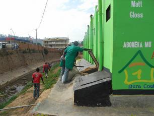 Kigali Eco-Toilet. Photo: Eugene Dusingizumuremyi / SuSanA