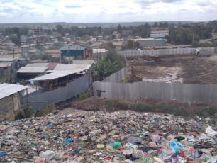Landfill in Kenya (Photo by Jacob Baraza of CESPAD)