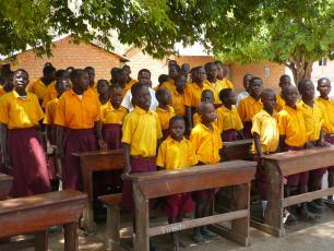 School children in Arua