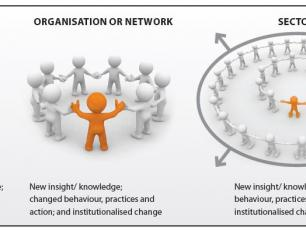learning: from individual to sector