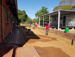Machinjiri health centre, Zomba, Malawi (photo WRA Malawi)