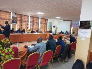 Meeting on SDG6 in Mali