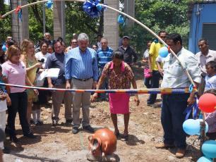 Opening of a WASH project in Honduras