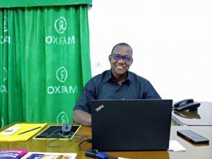 Marc Kaboré of Oxfam