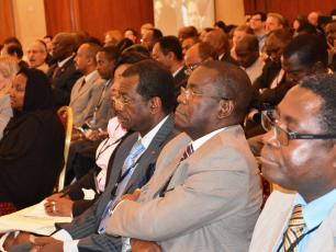 Participants at the IRC monitoring symposium in Addis Ababa Ethiopia, 2013