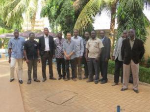 les participants de la réunion