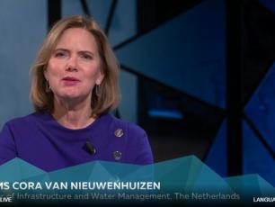 HE Ms Cora van Nieuwehuizen