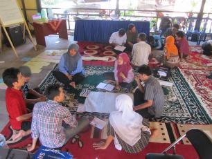 Capacity self-assessment workshop in Indonesia