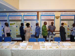"SMARTerWASH posters at ""State of Rural Water Services in Ghana"" Forum"