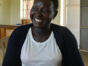 Susan Alobo, HPM Adekwokok sub county, treasurer Lira HPMA