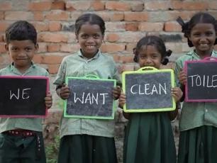 Children - Photograph: WSSCC