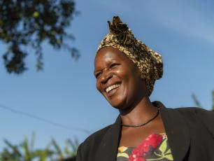Lady from Kamwenge District, Western Uganda