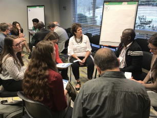 Collective action session at UNC