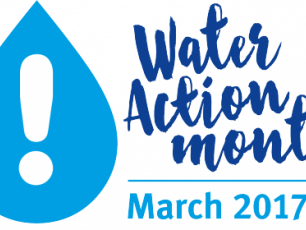 Water Action Month logo