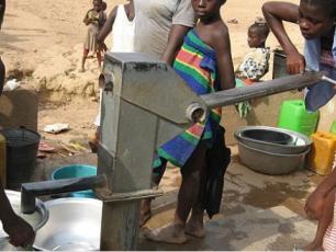 Water point in Ghana credit:Skyfox
