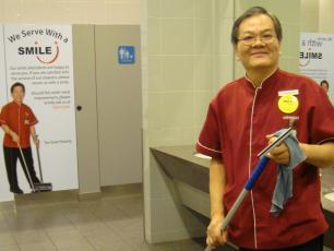 We serve with a smile - WASH at the workplace