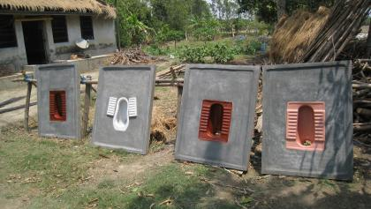 Sanitation marketing, Sagar island, India