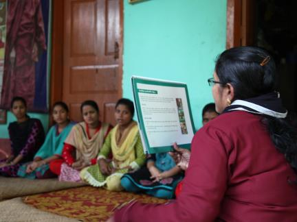 Adolescent girls' cluster meeting - Sayedbari, Rangunia 2014