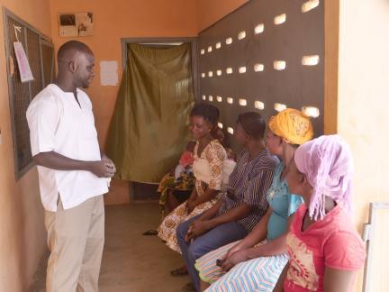 Bongo nurse Isaac