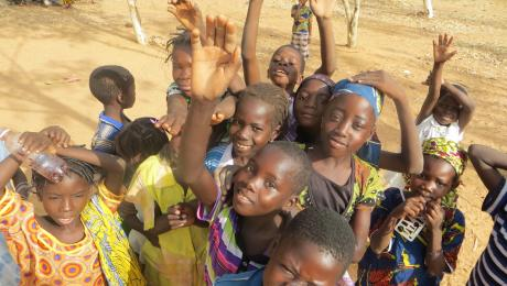 Burkina Faso happy kids