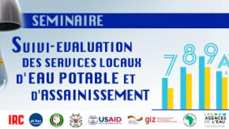 Poster of the monitoring seminar in Burkina Faso