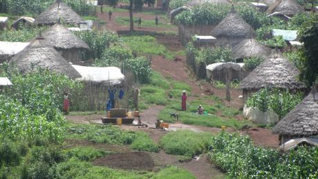 Bambasi refugee camp in Ethiopia