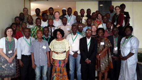 BRAVE project group Ghana