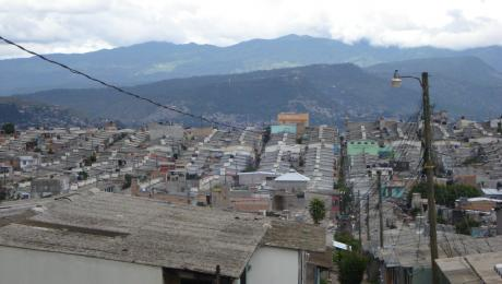 Poor neighbourhood in capital of Honduras, Tegucigalpa. Photo: Stef Smits, IRC